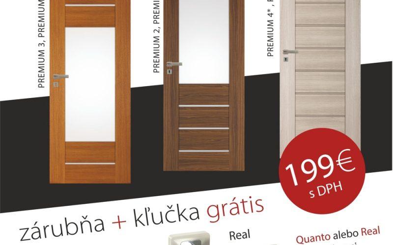 Dverné komplety DRE, 199€
