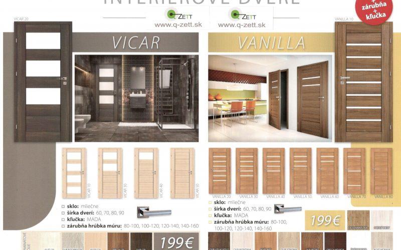 Akc. set VICAR, VANILLA od 199 €